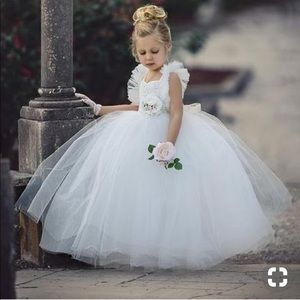 Dollcake My Everything Tulle Off White Dress